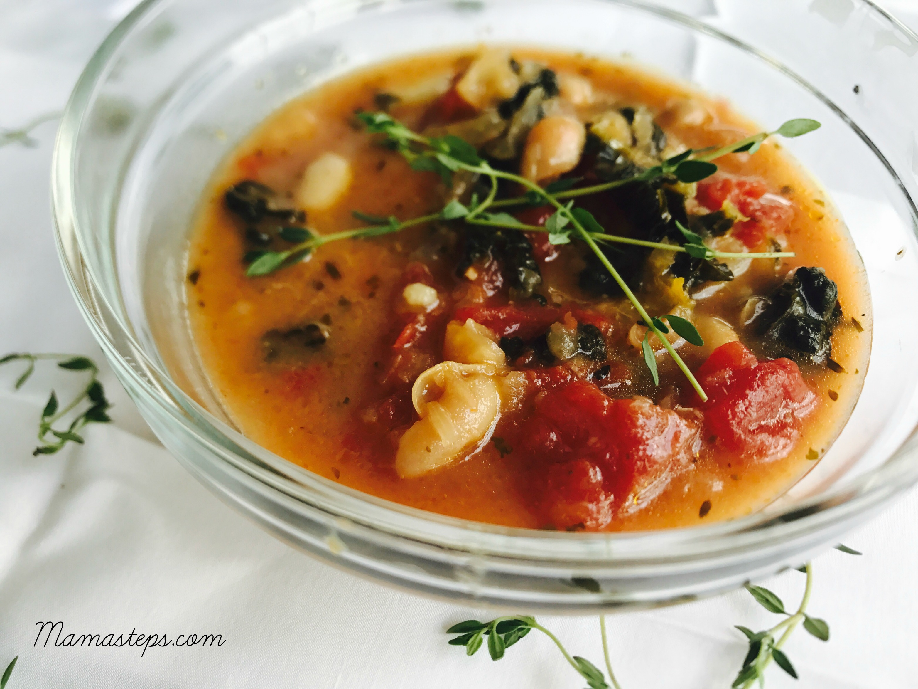 white bean soup 2