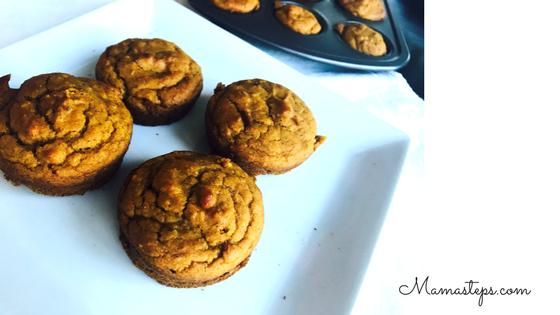 Gluten Free Sugar Free Pumpkin Muffins